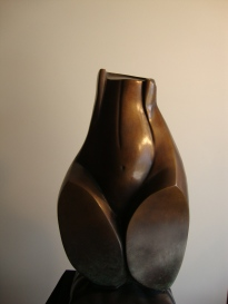 """""""Precious Pear"""" Bronze, available with brown or black patina 60cm high x 30cm wide x 30cm deep AUD $11.000 1"""