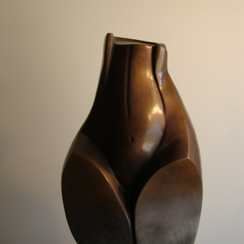 """Precious Pear"" Bronze, available with brown or black patina 60cm high x 30cm wide x 30cm deep AUD $11.000 1"